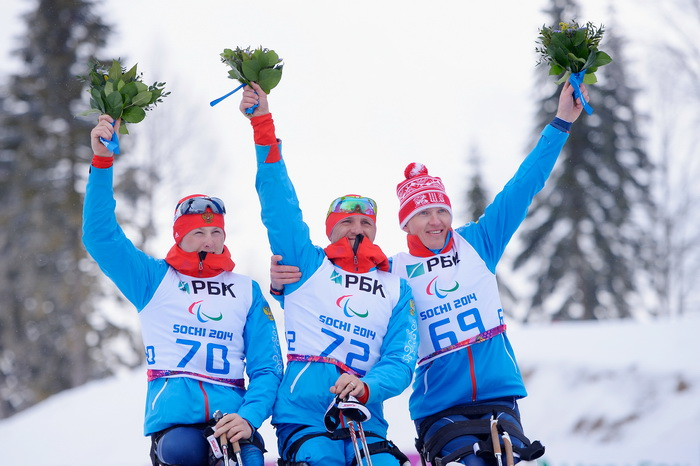 Петушков выиграл пятое «золото» Паралимпиады в Сочи