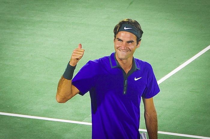 Федерер победил Долгополова в теннисном турнире Индиан-Уэллса