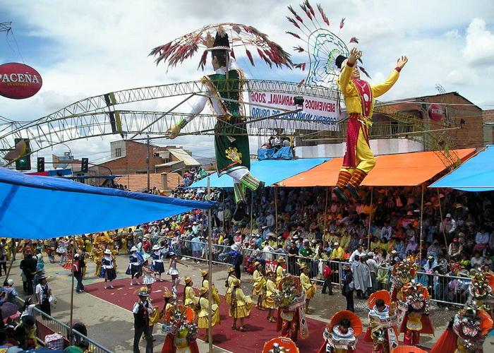 Четыре человека погибли во время карнавала в Боливии
