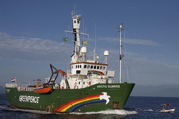 «Гринпис» выступил против бурения в российской Арктике. Фото: Alex Carvalho/flickr.com