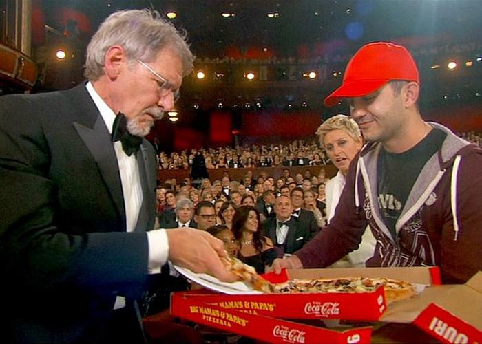 Разносчик пиццы участвовал в церемонии вручения «Оскара»