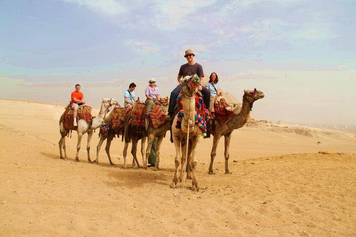 В Египте уменьшилось количество российских туристов
