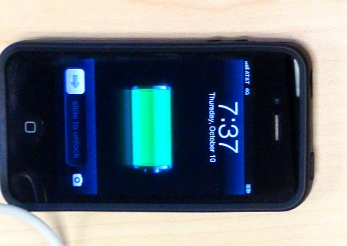 Зарядить смартфон можно будет прикосновением к его экрану