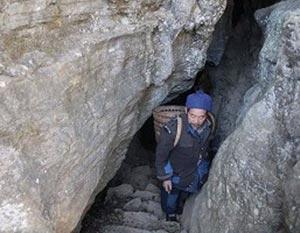 Вход в пещеру, ведущую в долину. Фото: Великая Эпоха