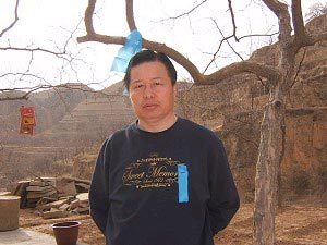 Гао Чжишен в своем родном городе в провинции Шаньси. Фото: Ma Wendou