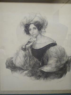 Княгиня В.А.Волконская