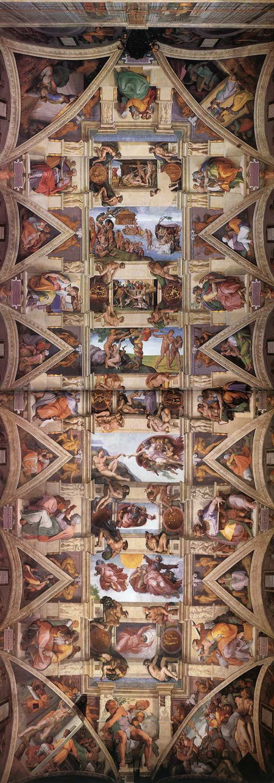 Сикстинская капелла. Ватикан. Фреска (1508 - 1512). Art Renewal Center