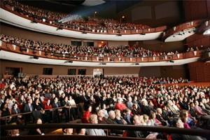 Глобальный тур 2008 года одной из групп творческого коллектива «Божественное искусство» начался в Атланте со спектакля, посвящённого китайскому Новому году, в зале Cobb Energy Performing Arts Centre. Фото: The Epoch Times