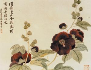Традиционная китайская живопись. Картина Чжан Цуйин. Фото: zhangcuiying.org