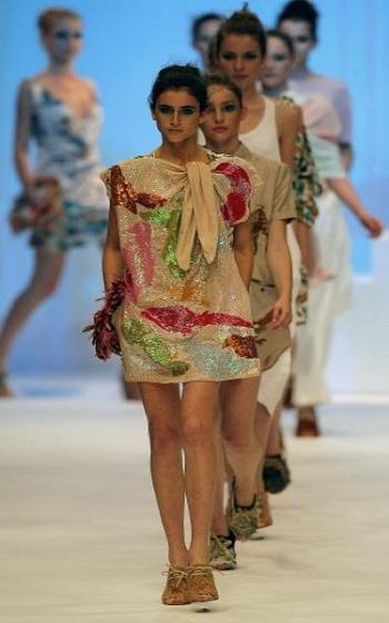 Неделя моды в Рио-де-Жанейро (Rio Fashion Week). Фото: AFP