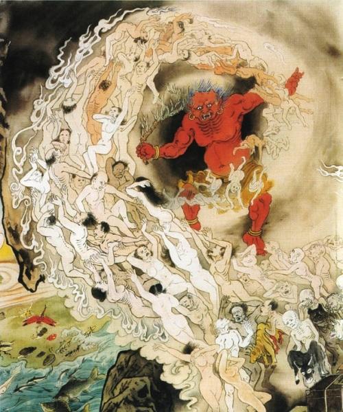Картины ада - грандиозное творение нашего времени