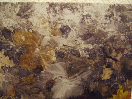 Работа художницы Анны Туфельд на выставке в Иерусалимсом театре. Фото: Хава Тор/Великая Эпоха