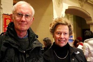 Бывший адвокат из Аламо Том Гроувс и его жена Элиза: