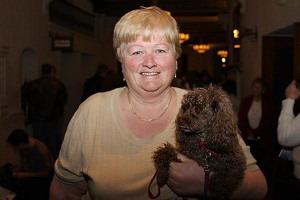 Абби МсГриви, пришедшая в театр со своей маленькой собачкой, призналась: