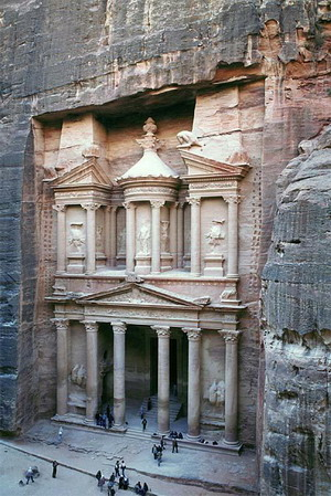 Город в скале Петра