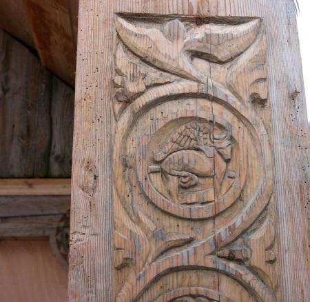 Искусство по дереву. Фото: Hans Buchler