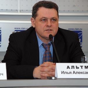 Сопредседатель научно-просветительного Центра «Холокост» Илья Альтман. Фото: Юлия Цигун/Великая Эпоха