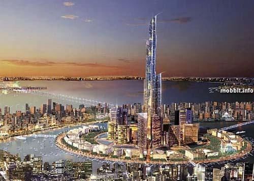 Mubarak Tower строится сейчас в Кувейте; это будет целый комплекс, который включит в себя финансовый, развлекательный, культурный и природоохранный центры. Фото с сайта Mobbit.info