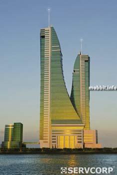 Bahrain Harbour Towers – финансовый центр, самое высокое здание Бахрейна. Фото с сайта Mobbit.info