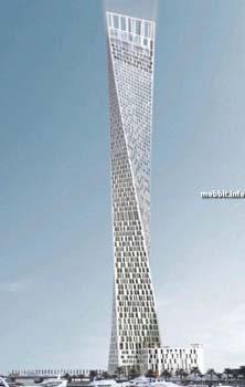 80-этажный небоскреб оригинальной «крученой» формы, строительство которого, правда, сейчас приостановлено. Фото с сайта Mobbit.info