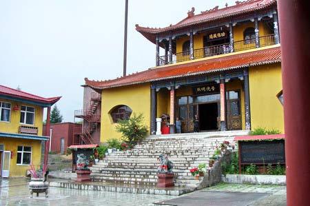 Храм. г. Суйфэньхэ. Фото: Нелли Родионова/Великая