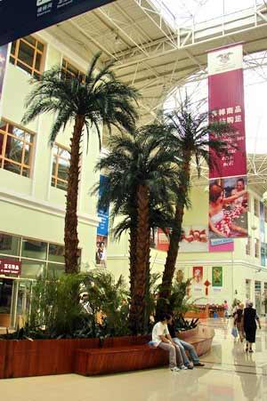 Внутри нового торгового центра. г. Суйфэньхэ. Фото: Нелли Родионова/Великая Эпоха
