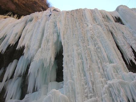 Ледяной водопад. Фото: Щеткина Оксана/Великая Эпоха