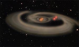 Астрономы обнаружили звездную систему с четырьмя солнцами. Фото с сайта Cybersecurity.ru