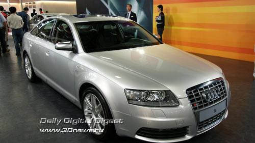 Стенд Audi. Audi S6. Фото: 3dnews.ru