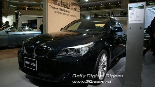 Стенд баварской компании BMW. Дизельная
