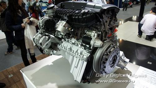 Стенд баварской компании BMW.