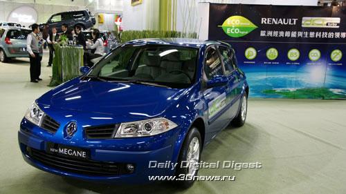 Стенд компании Renault. Линейка Megane: хетчбек. Фото: 3dnews.ru
