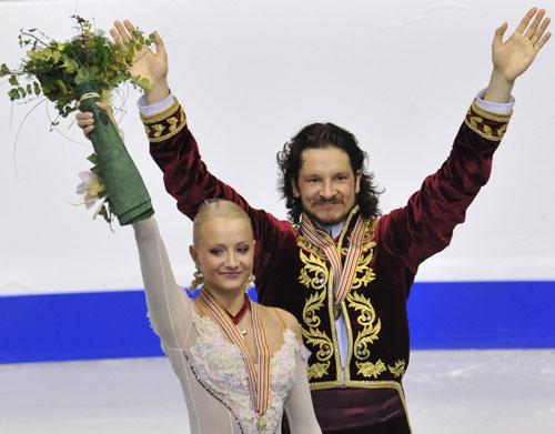 Оксана Домнина и Максим Шабалин (Россия). Фото: Оксана Домнина/Максим Шабалин (Россия)