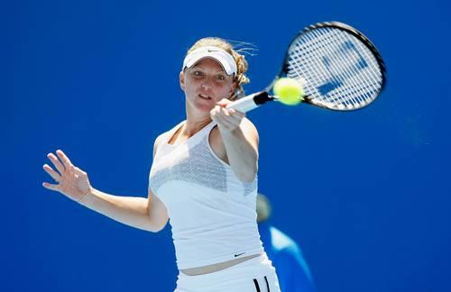Дитти Джулия (США) (Julie Ditty of the United States of America) во время открытого чемпионата Австралии по теннису. Фото: Quinn Rooney/Getty Images