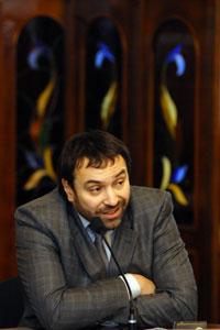 Виталий Доколенко, президент НТУ. Фото: Влaдимир Бородин/Великая Эпоха