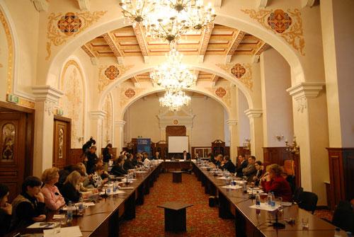 Зал конференции «Общественно правовое вещание: свобода слова и программное разнообразие». Фото: Влaдимир Бородин/Великая Эпоха