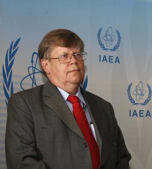 Олли Хэйнонен, заместитель главы МАГАТЭ. Фото: DIETER NAGL/AFP/Getty Images