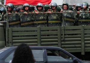 Армия китайской компартии в Тибете. Фото: AFP