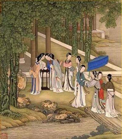 Сюжеты из жизни девушек древнего Китая. Фото с secretchina.com