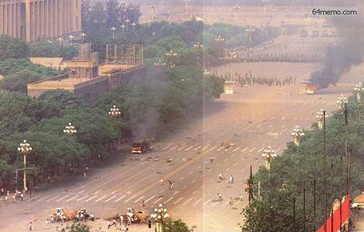 4 июня 1989 г. Кровавое подавление студентов. Фото с 64memo.com
