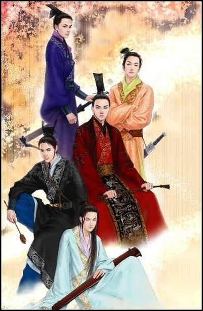 Китайский мужской костюм в период династии Хань. Фото с secretchina.com