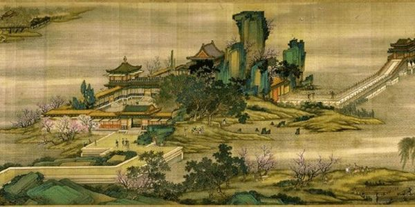 Картина художника Чжан Цзэдуаня