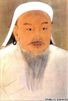 Чингисхан (1162 —1227). Этот человек оставил на Земле более сотни миллионов потомков