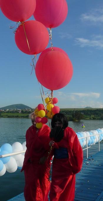 Фирма Апельсин приплыли. Фото: Елена Захарова/Великая Эпоха