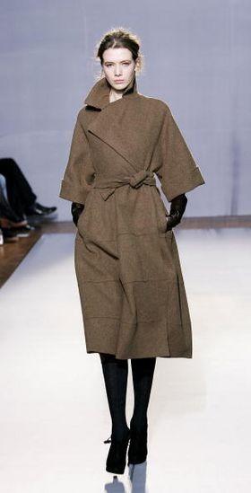 Лондон: коллекция женской одежды осень/зима 2008 /2009 от Nicole Farhi Фото: Getty Images