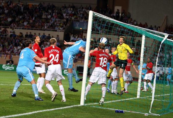 Матч за Суперкубок Европы между «Манчестер Юнайтед» и «Зенитом». Стадион Луи II, Монако. Фото: Phil Cole/Getty Images