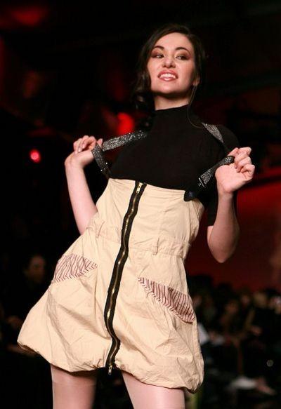 Неделя моды LOreal в Торонто. Коллекция от DAN (Tatsuaki) Liu. Фото: И Тянь/The Epoch Times