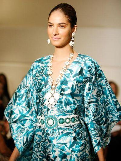 Коллекция женской одежды Badgley Mischka 2009. Фото: Getty Images