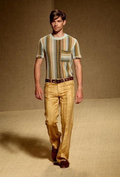 Мужская коллекция Missoni. Фото: Getty Images