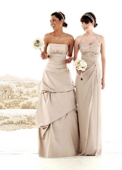 Нарядное платье для свидетельницы. Фото с efu.com.cn